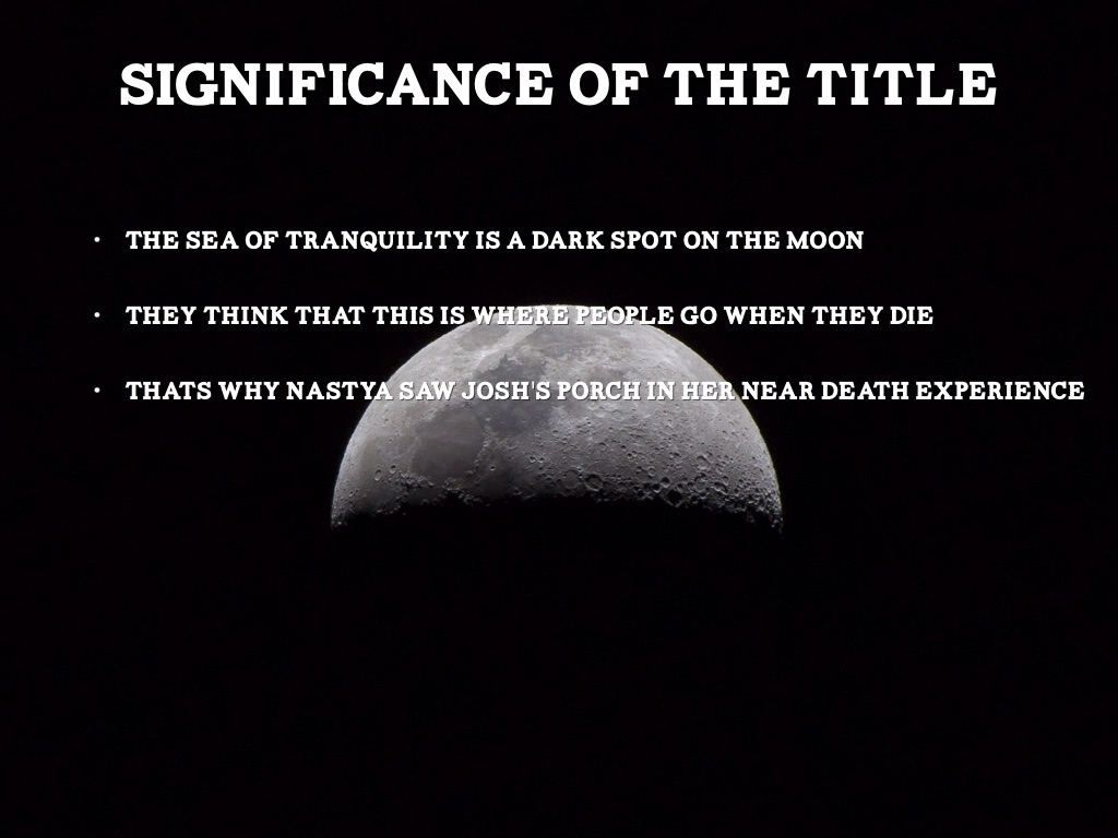 significance of the title
