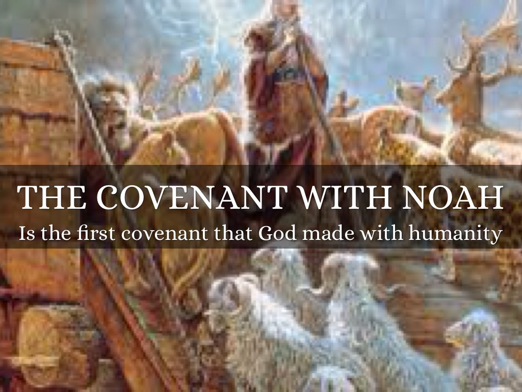 the covenant gods relationship with noah Through a series of covenants, god gradually re-established a relationship with   noah's ark prefigures christ's church that carries the faithful to salvation.