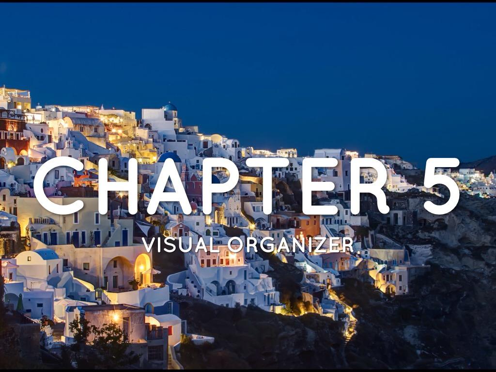 Chapter 5 Visual Organizer