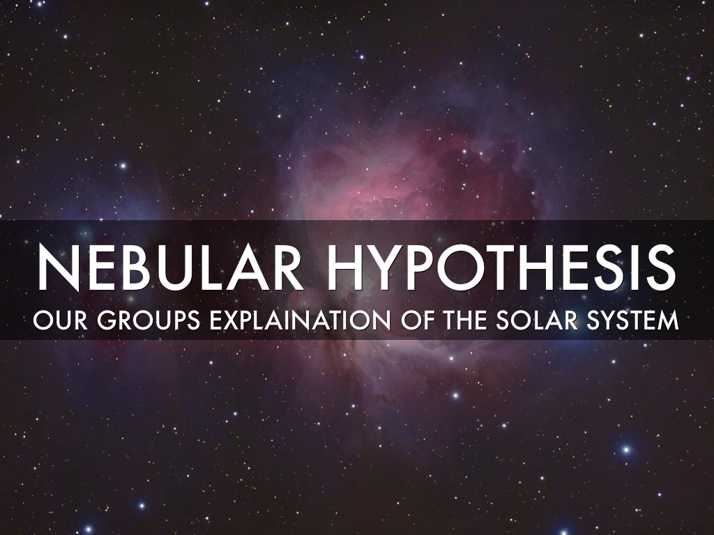 solar system hypothesis questions - photo #22