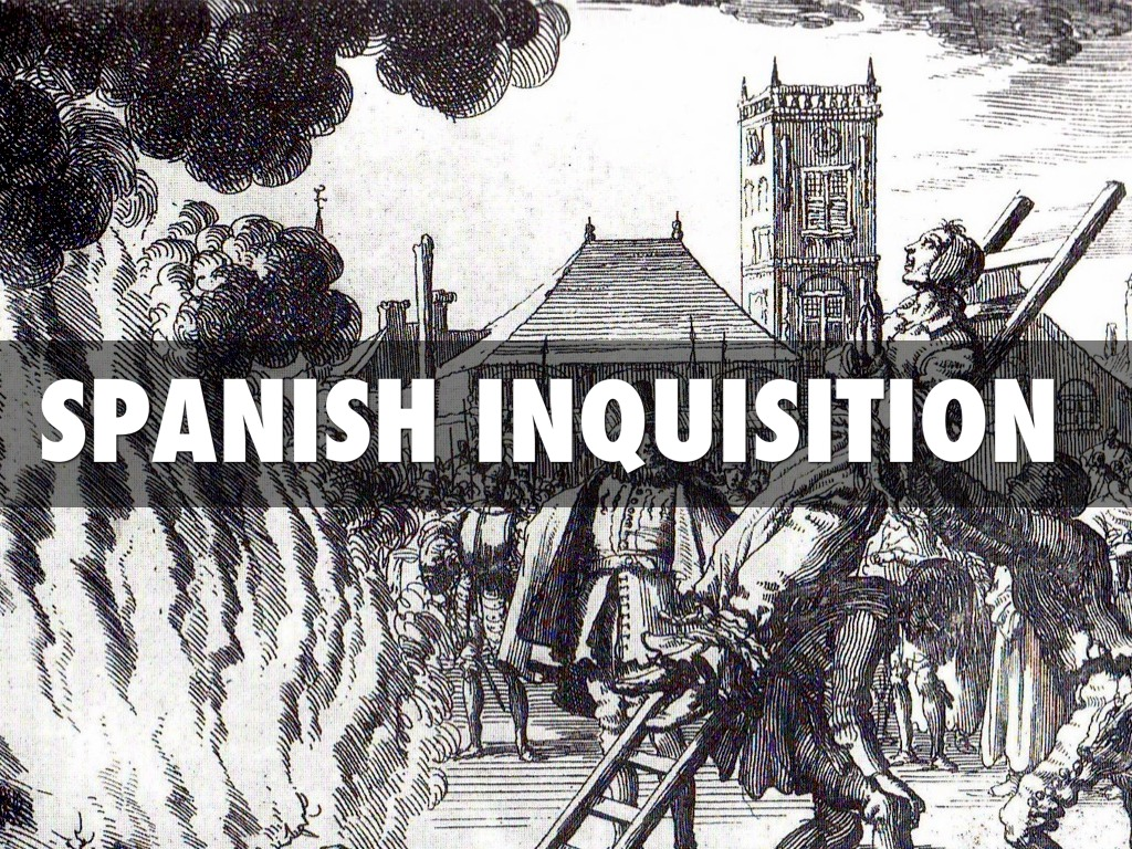 spanish inquisition essay 2018-6-13 essays from bookrags provide great ideas for spanish inquisition essays and paper topics like essay view this student essay about spanish inquisition.