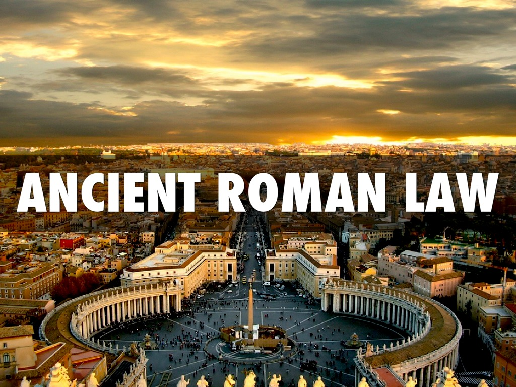 roman law A focus on the many similarities and differences of law in ancient rome and law in the united states today.