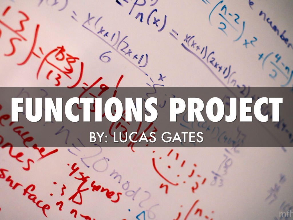 Functions Project