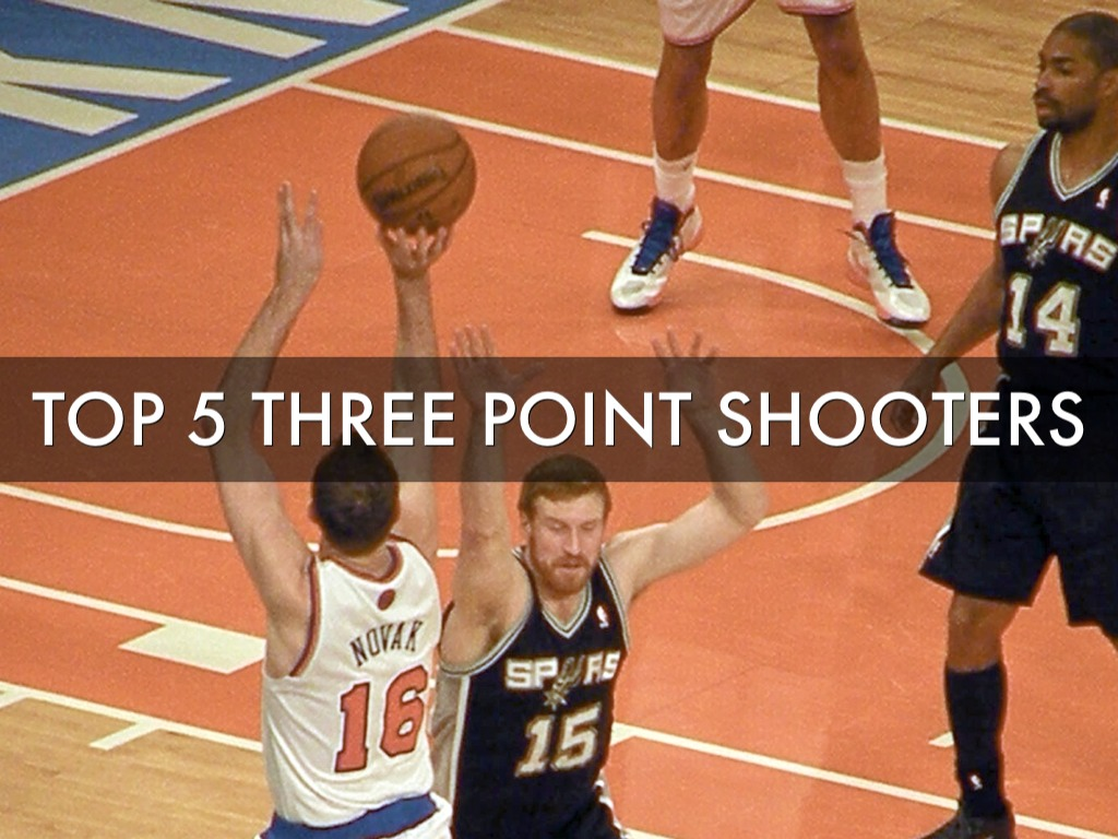 Top 5 Three Point Shooters
