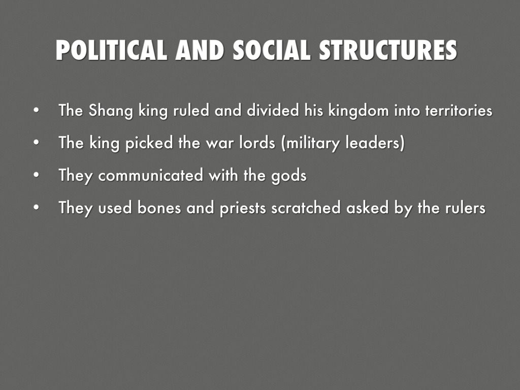social structures of han china and Social structures at the top was the emperor some military officers were as kings farmers and peasants were the second tier, their social status was above laborers.