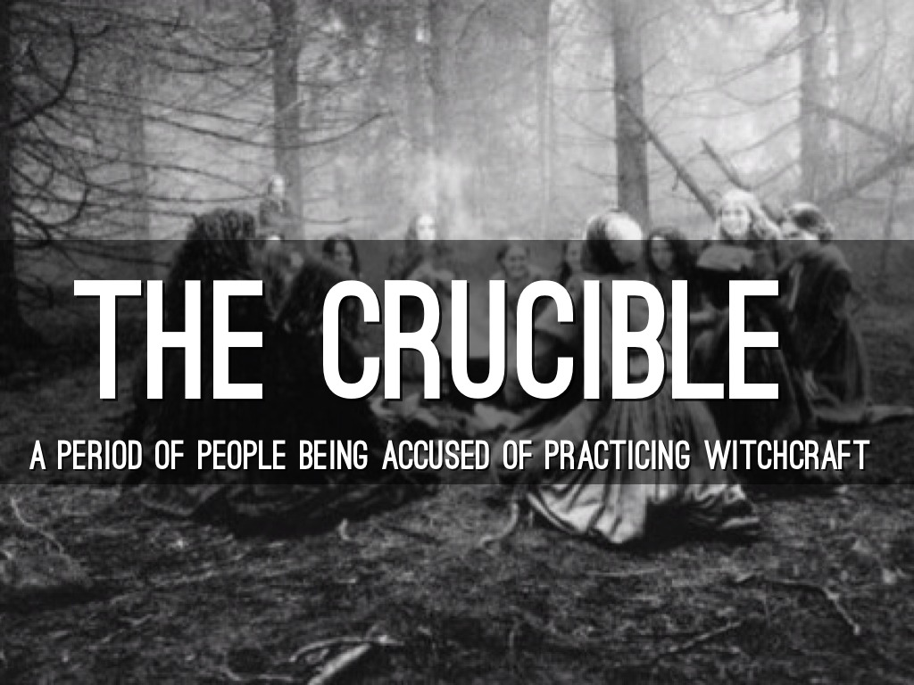 the crucible relationship to red scare Arthur miller's the crucible, a partially fictionalized play interpretation of the salem witch trials, was written to resemble the american government's actions during the red scare, mccarthy.
