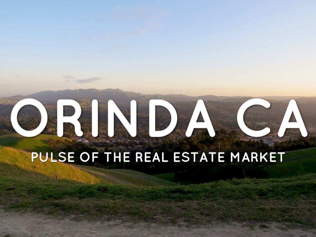 Orinda CA Pulse of the real estate market
