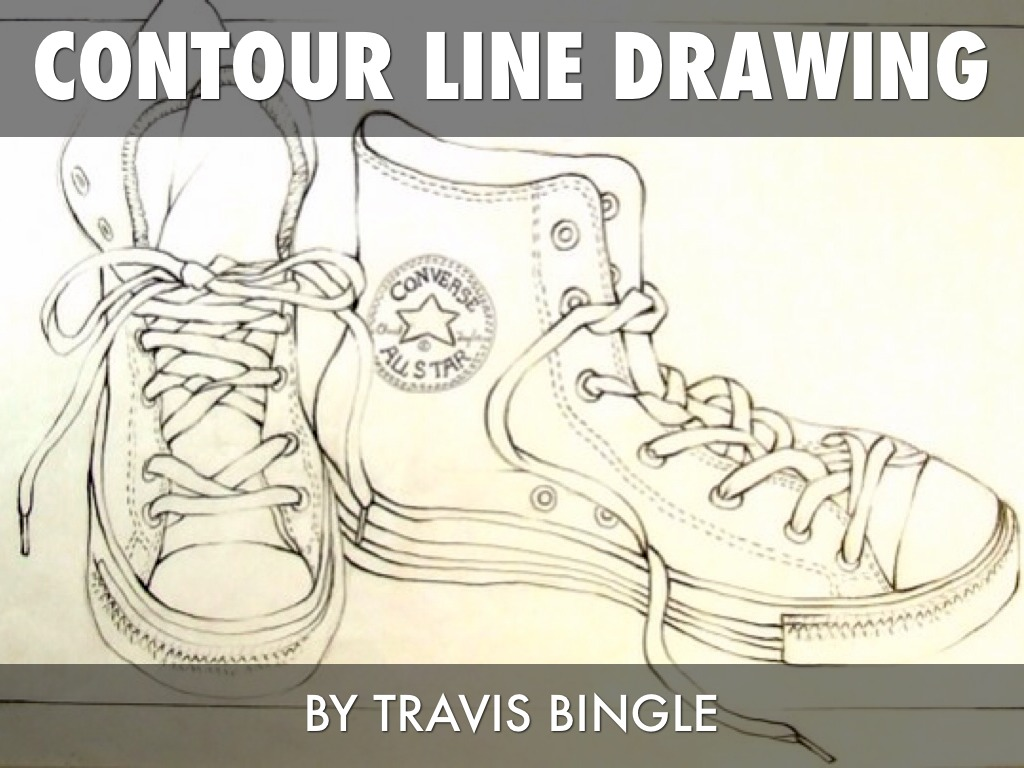 Contour Line Drawing Powerpoint : Contour line drawing by travis bingle