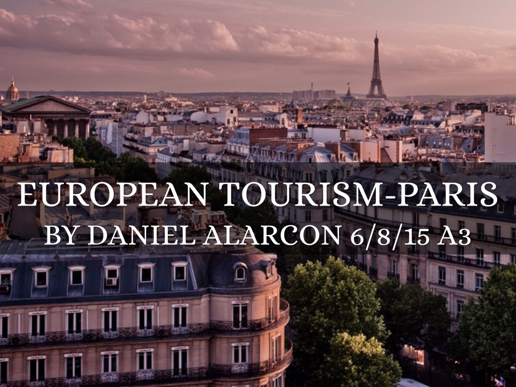 European Tourism-Paris