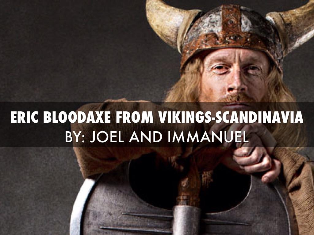 Eric Bloodaxe From Vikings Scandinavia