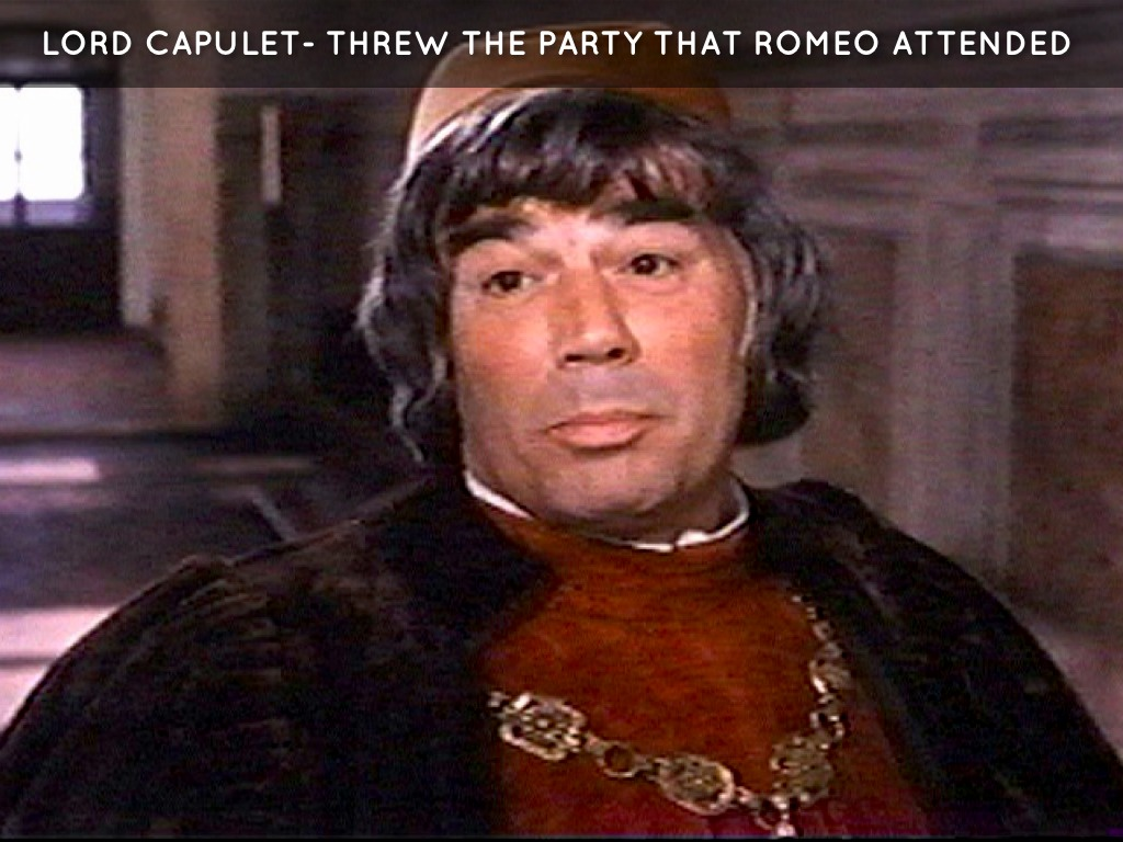 lord capulet good or bad october