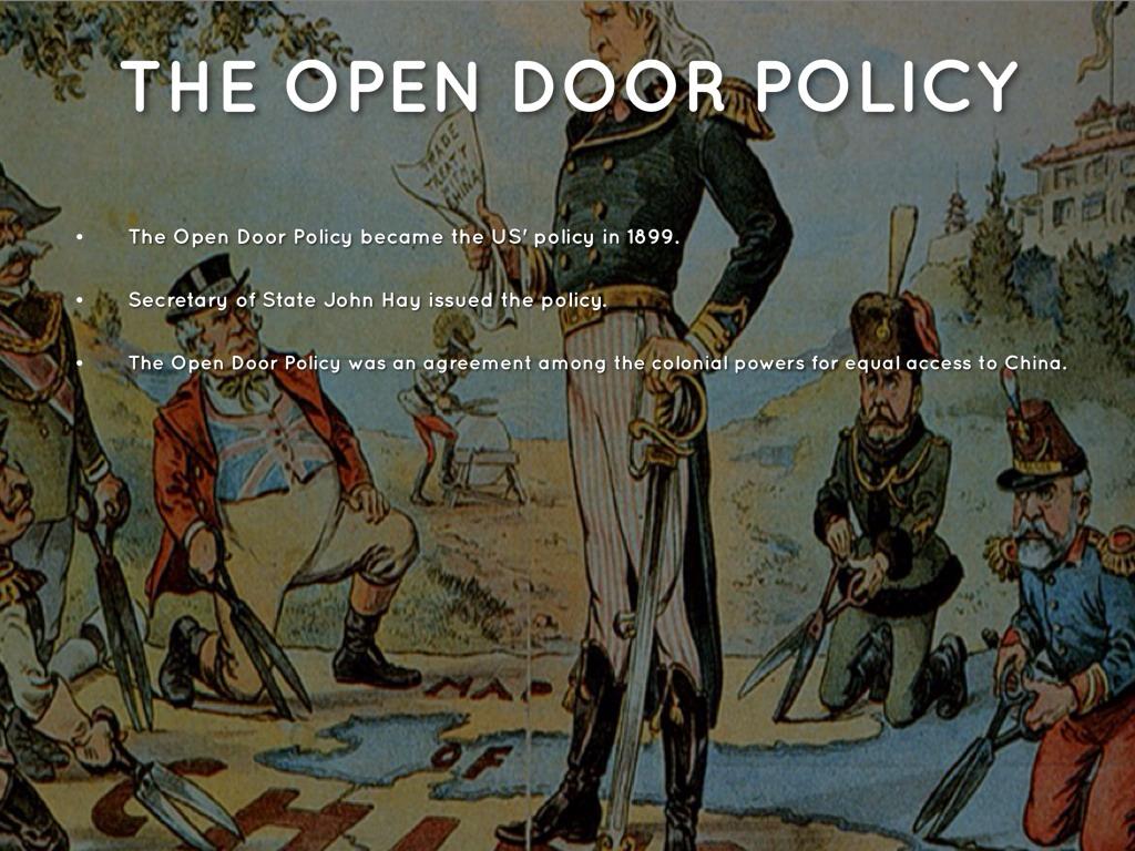 open door policy john hay. 8. Open Door Policy John Hay