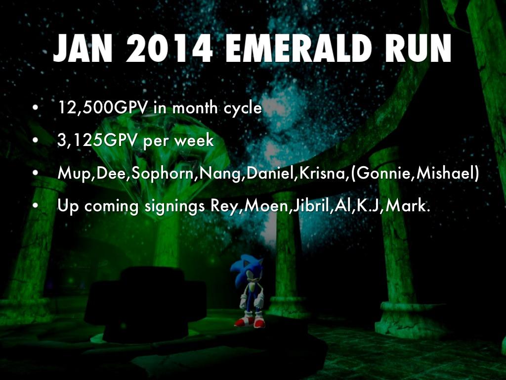 Jan Emerald Run