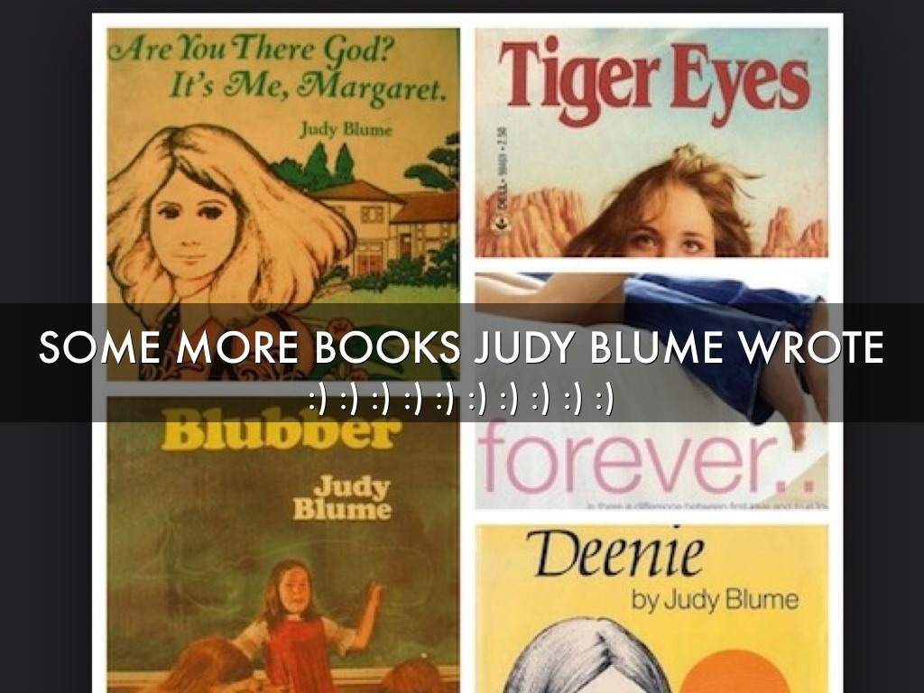 the vicious cycle of bullying in blubber a novel by judy blume The bullying kate endured was vicious kate machugh - author of ugly: the story of a bullied girl all things judy blume 3/1/2018.
