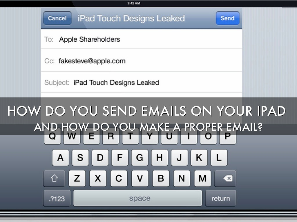 How To Send Emails And How To Do A Proper Email By