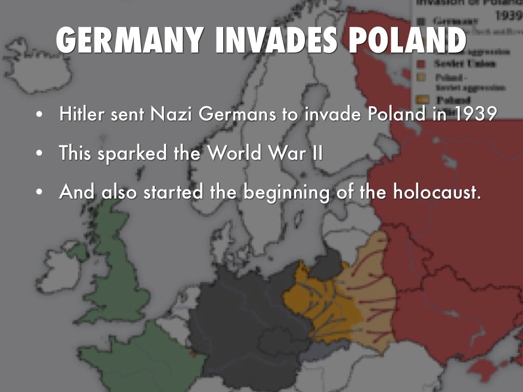 why the german invaded poland in 1939