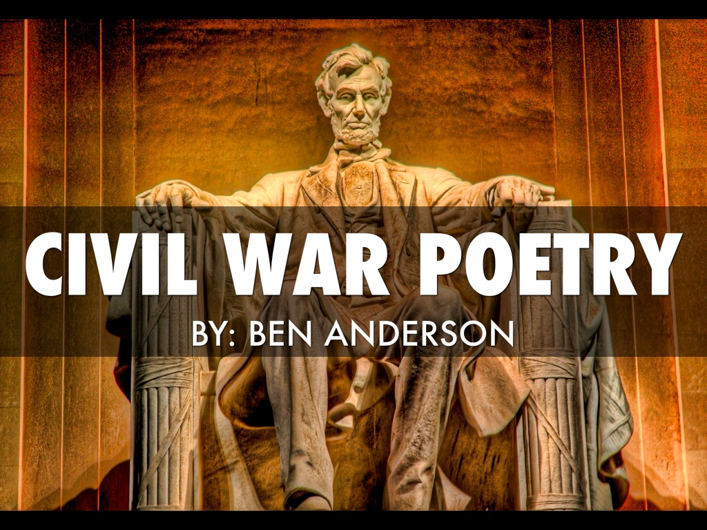 civil war poetry essays Jamie masters, poetry and civil war in lucan's 'bellum civile'  the latter's  lucan/the word at war in the imperial muse: ramus essays on roman  literature.