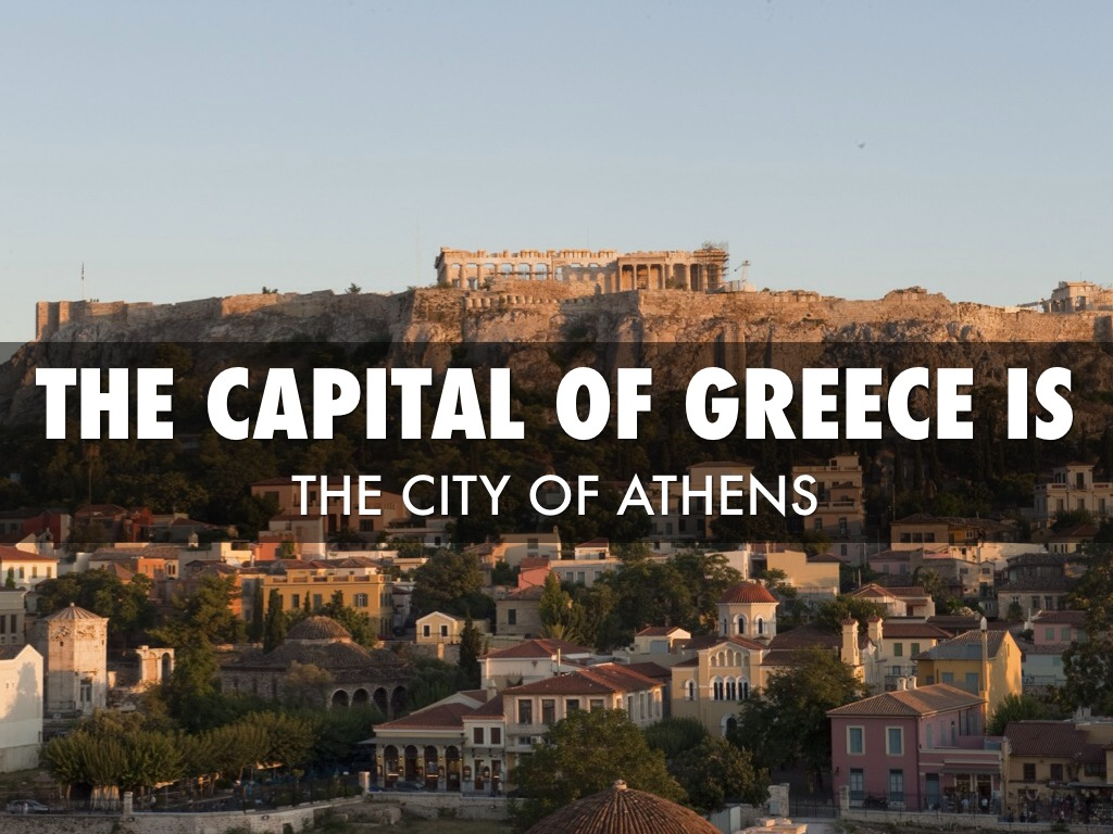 a description of greeks capital athens