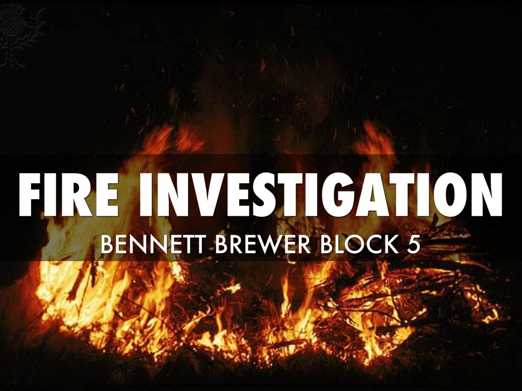fire investigation The city of oklahoma city fire investigation unit consists of 12 fire investigators and one assistant fire marshal one mission of the fire investigation unit is to investigate fires to determine if they were intentionally set.