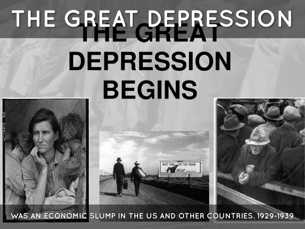 an analysis of the great depression the worst economic slump in history Breaking down 'the great recession' the term great recession is a play on the term great depression the latter occurred during the 1930s and featured gross domestic product (gdp) decline in excess of 10% and an unemployment rate that at one point reached 25% while no explicit criteria exists.