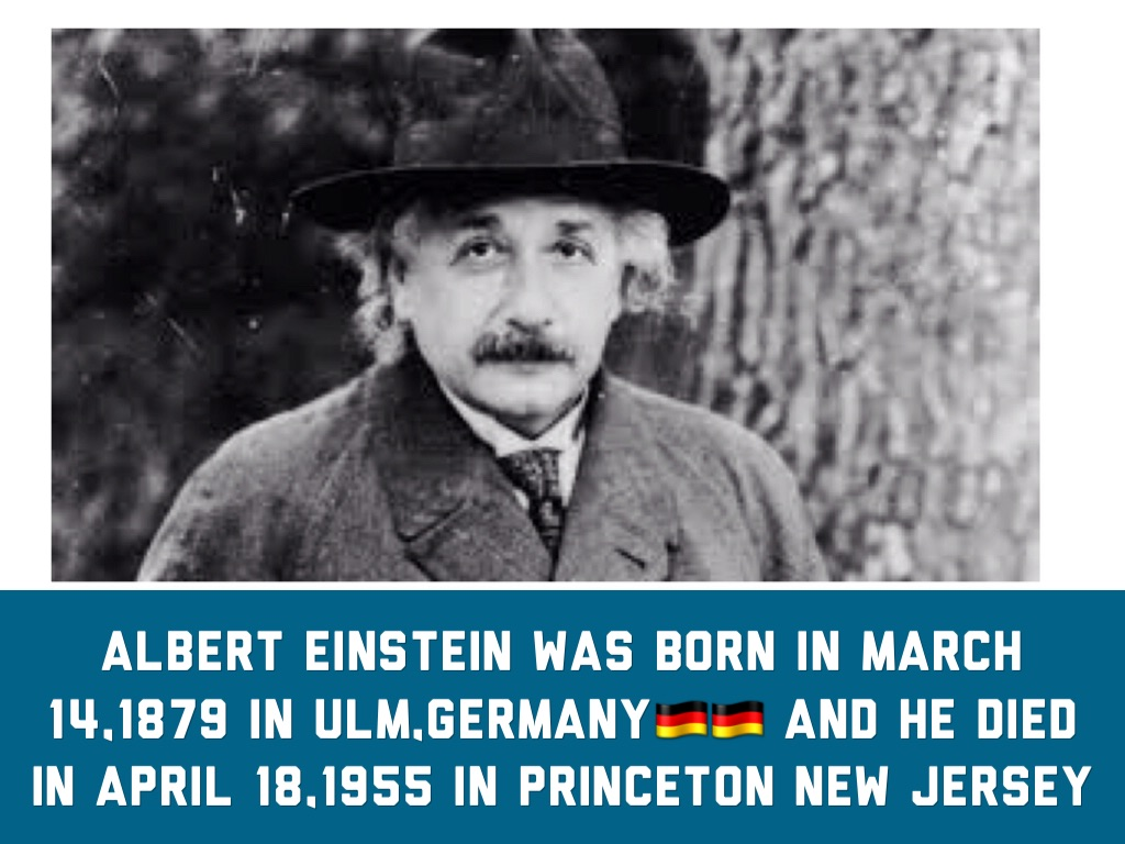 an analysis of the scientists einstein born in ulm germany Einstein was born in germany in ulm at school einstein was certainly not a backward student, but he did rebel against the military discipline and his marks suffered as a result einstein was allowed to take a year off and then complete school in switzerland, where he also went to university.