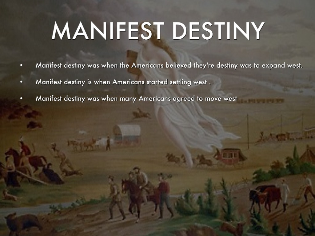 manifest destiny was