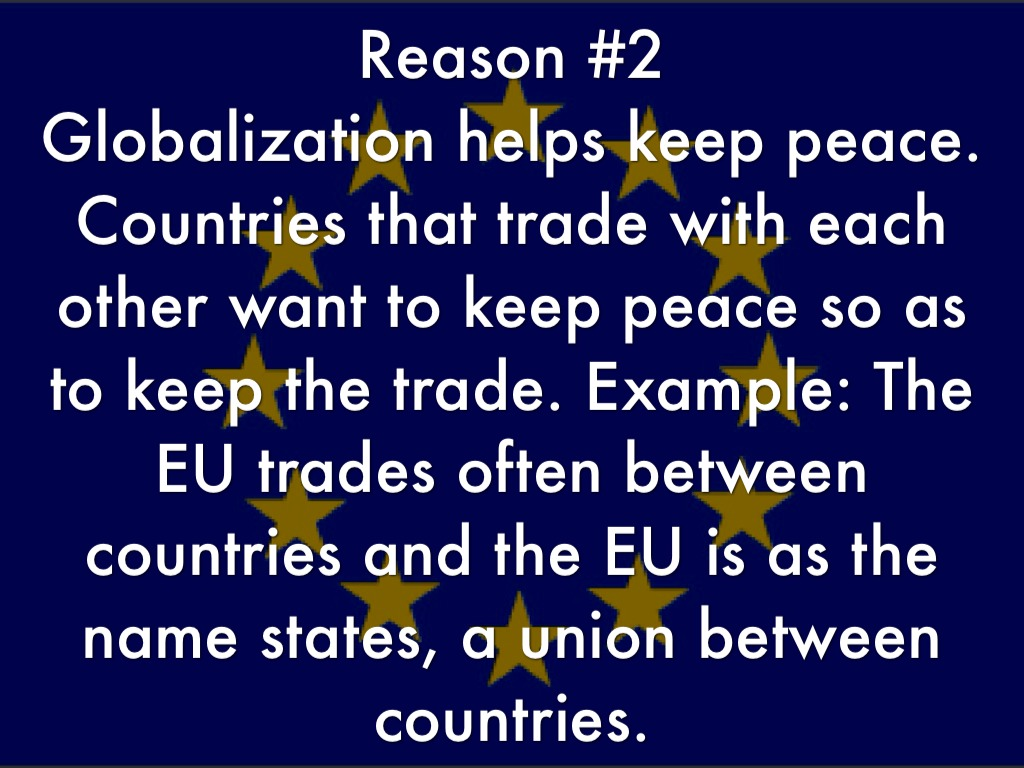 does globalization help countries