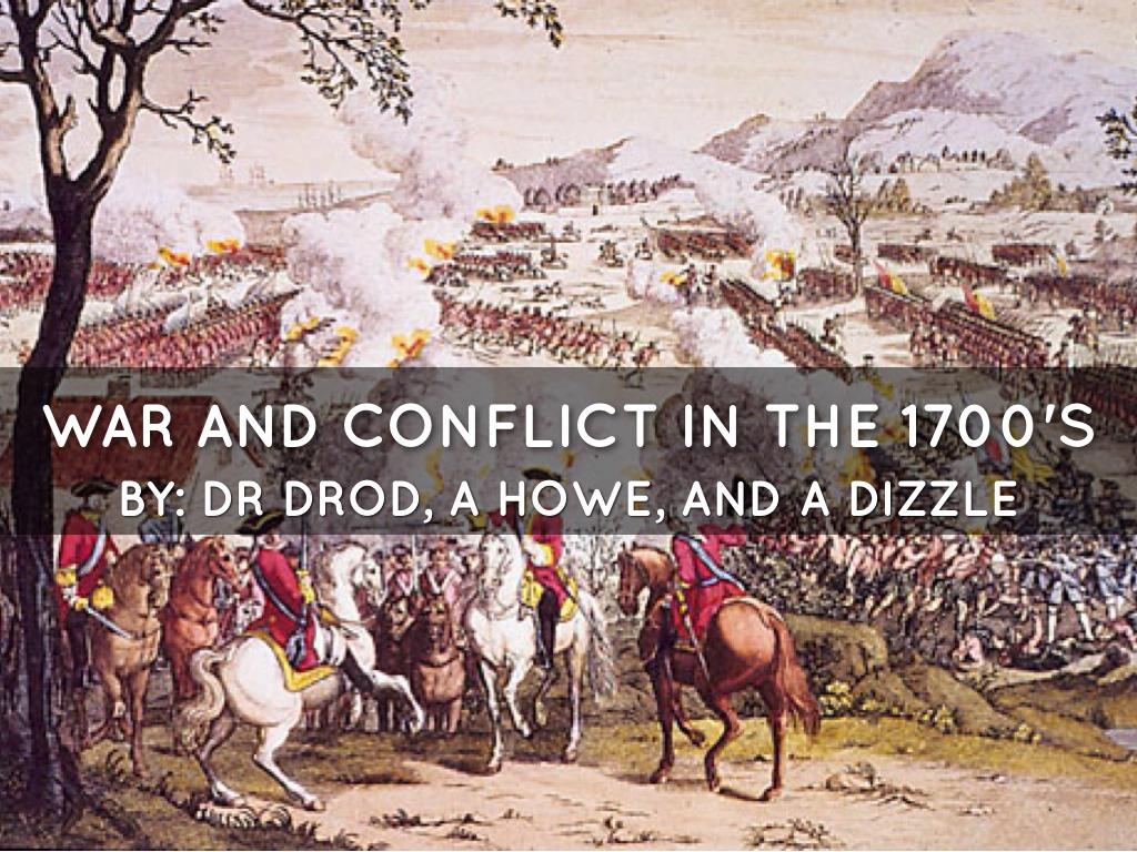 War In 1700's