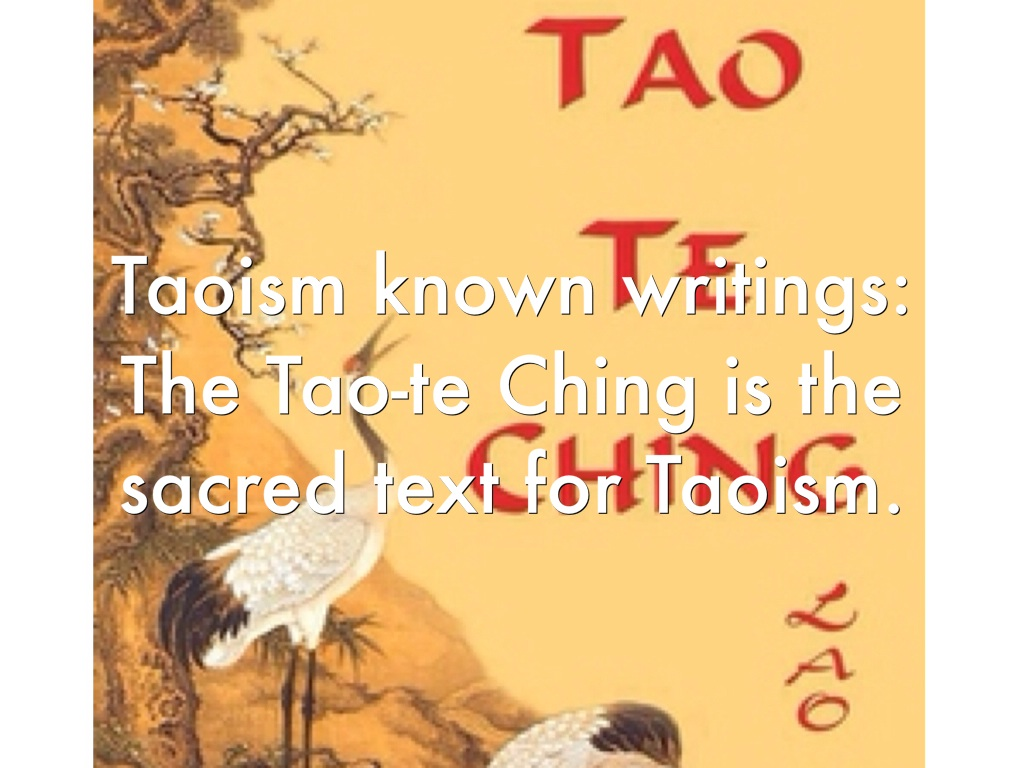 the ideas of taoism in the tao te ching Tao te ching topics: 3 4 9 : what tao and taoism is taoism interview what tao and taoism can ideas of taoism be seen in many different religions.