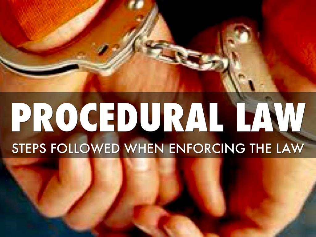 Procedural law