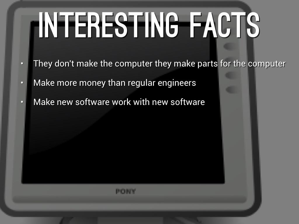 Computer hardware engineer essay
