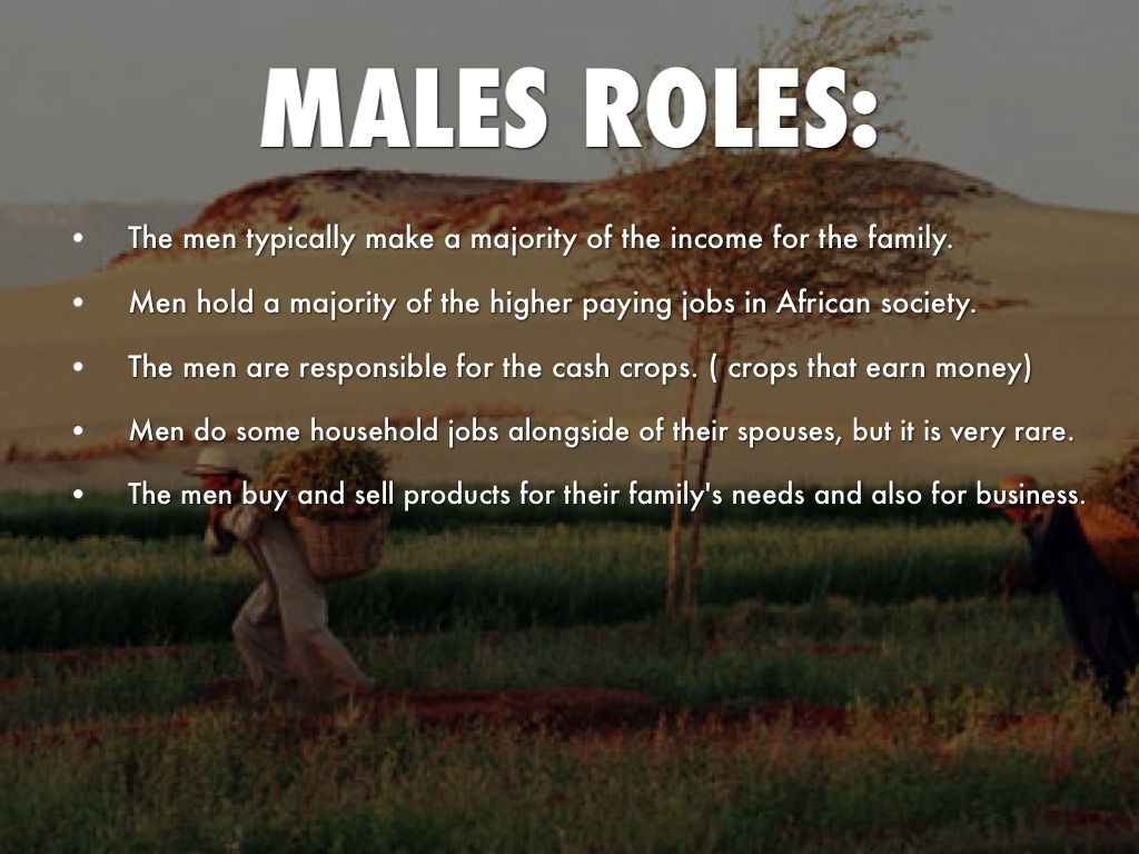 the role of a woman in african traditional society pdf