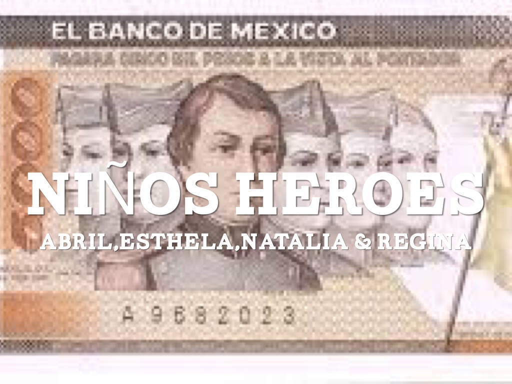 Los Niños Héroes by Natalia Gastelum Prieto  Natalia