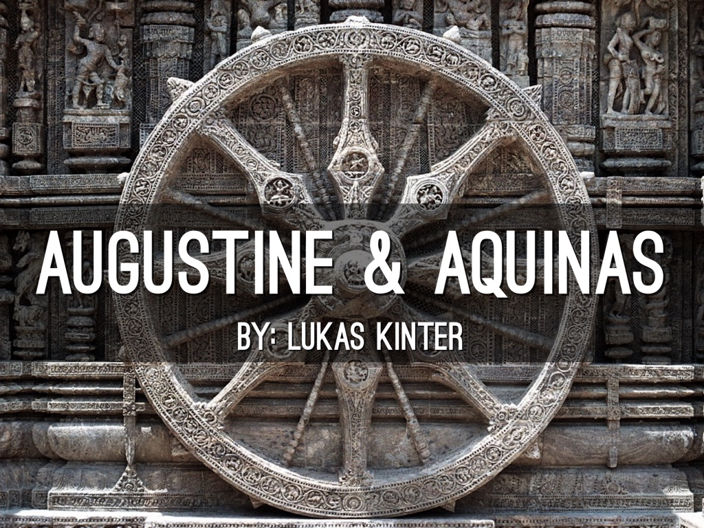 augustine vs aquinas human nature The reply to the fifth objection looks forward to aquinas' teaching on the soul: a separated substance (such as the soul of a human after death) is an individual with a rational nature but is not a person.