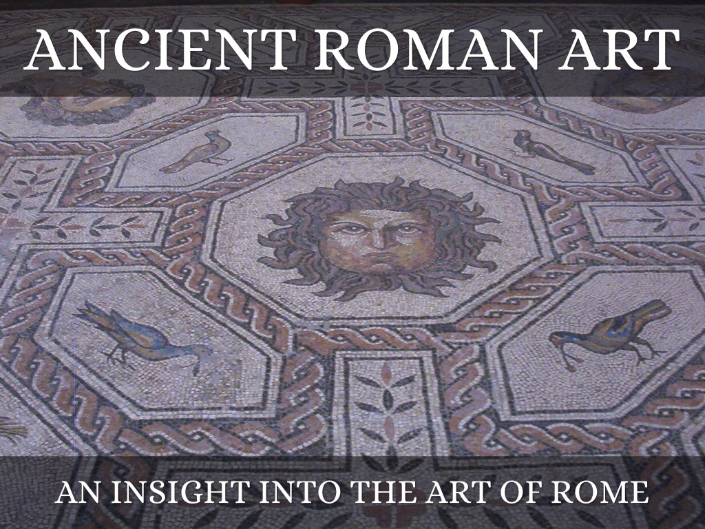 the importance of art in ancient rome Centered in the city of rome, the civilization of ancient rome ruled much of europe for over 1000 years the arts flourished during this time and were often used by the wealthy and powerful to memorialize their deeds and heritage.
