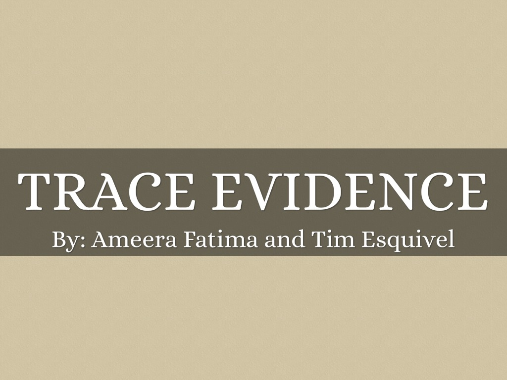 trace evidence Download past episodes or subscribe to future episodes of trace evidence by murderly for free.