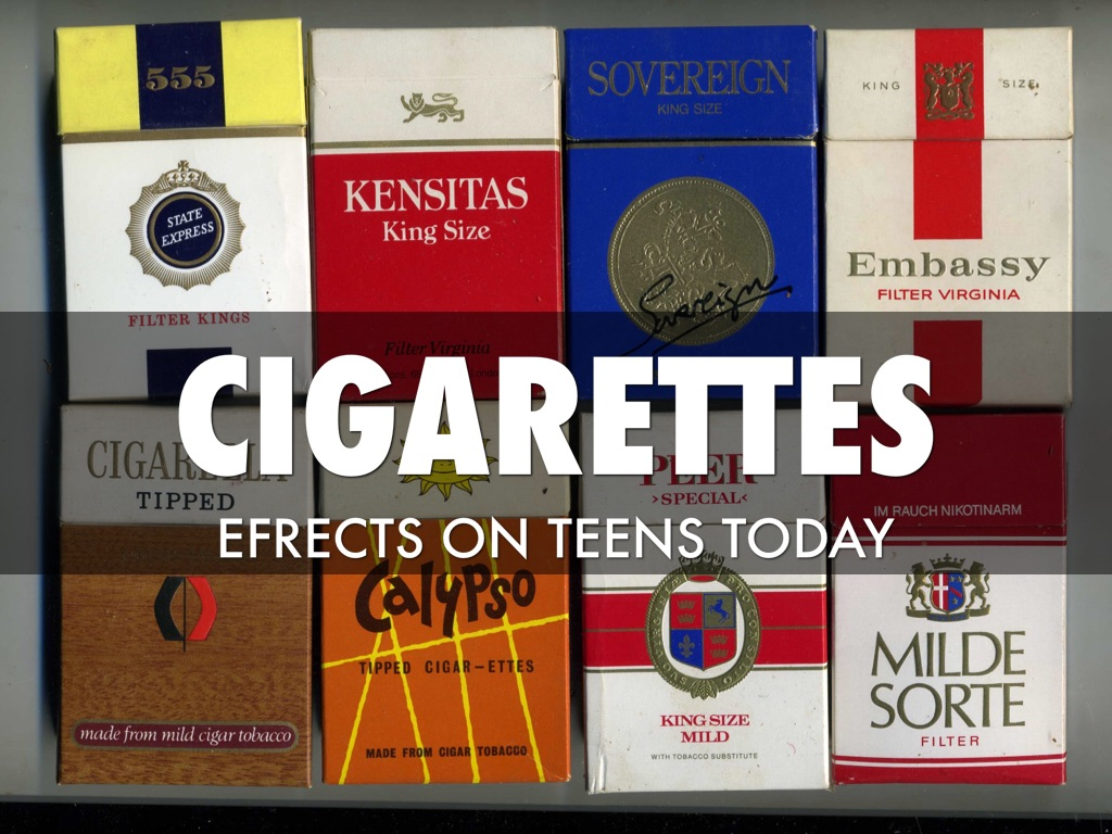 Cigarettes Effect On Teens by Jake Johnson