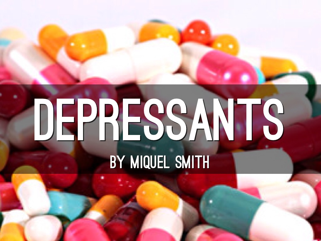 Depressants by mickeymoo713