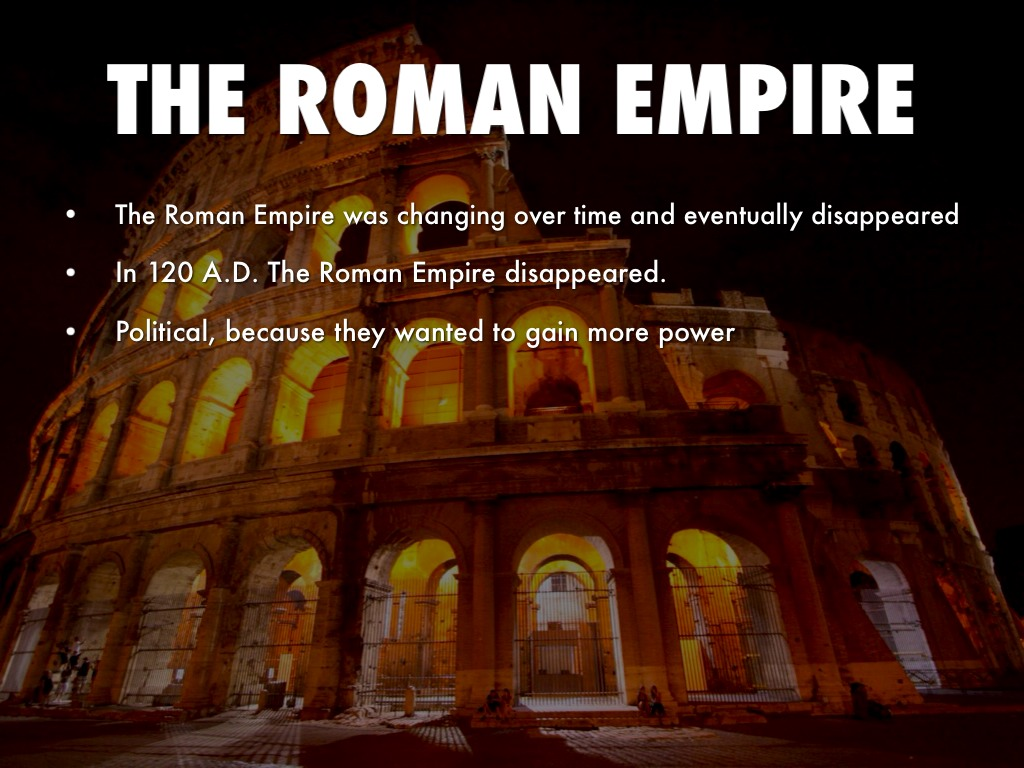 roman empire and change over time The holy roman empire changed shape many times during its eight century over time this practice resulted in a the real change in germany was.