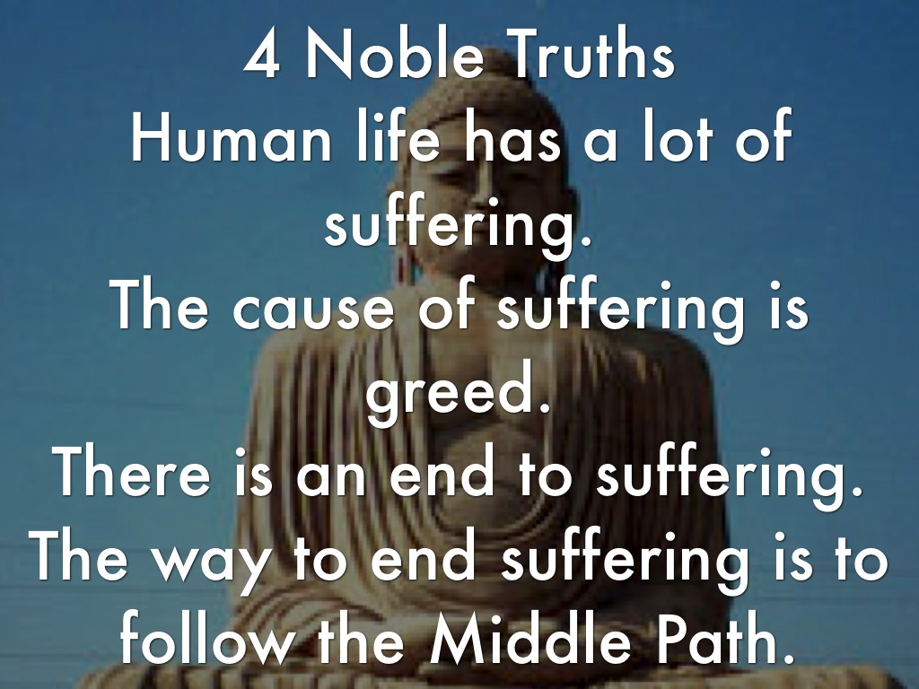 what is the buddhist way to end suffering