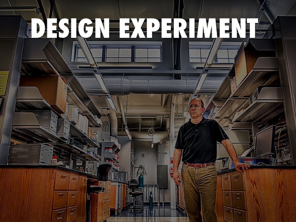 design experiment Design of experiments – guidance general design of experiments (doe) is a statistical methodology for planning, conducting, and analyzing a test.