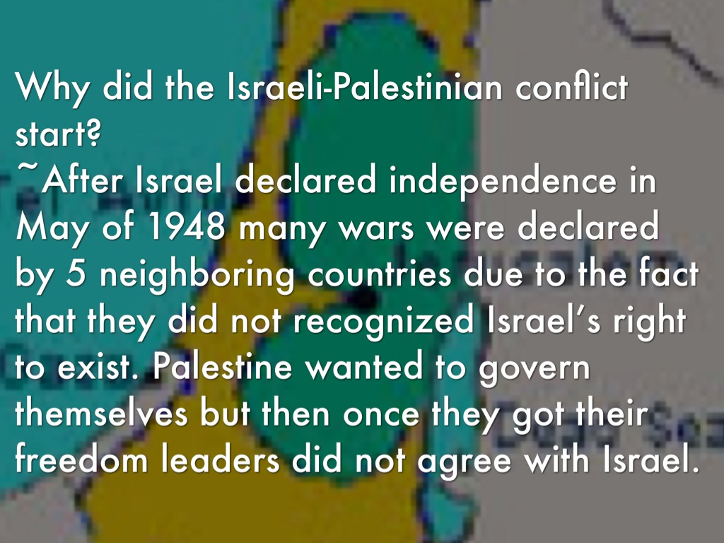 the never ending conflict between israel and palestine Israel-palestine conflict the israeli–palestinian conflict is the ongoing struggle between israelis and palestinians that began in the early 20th century.