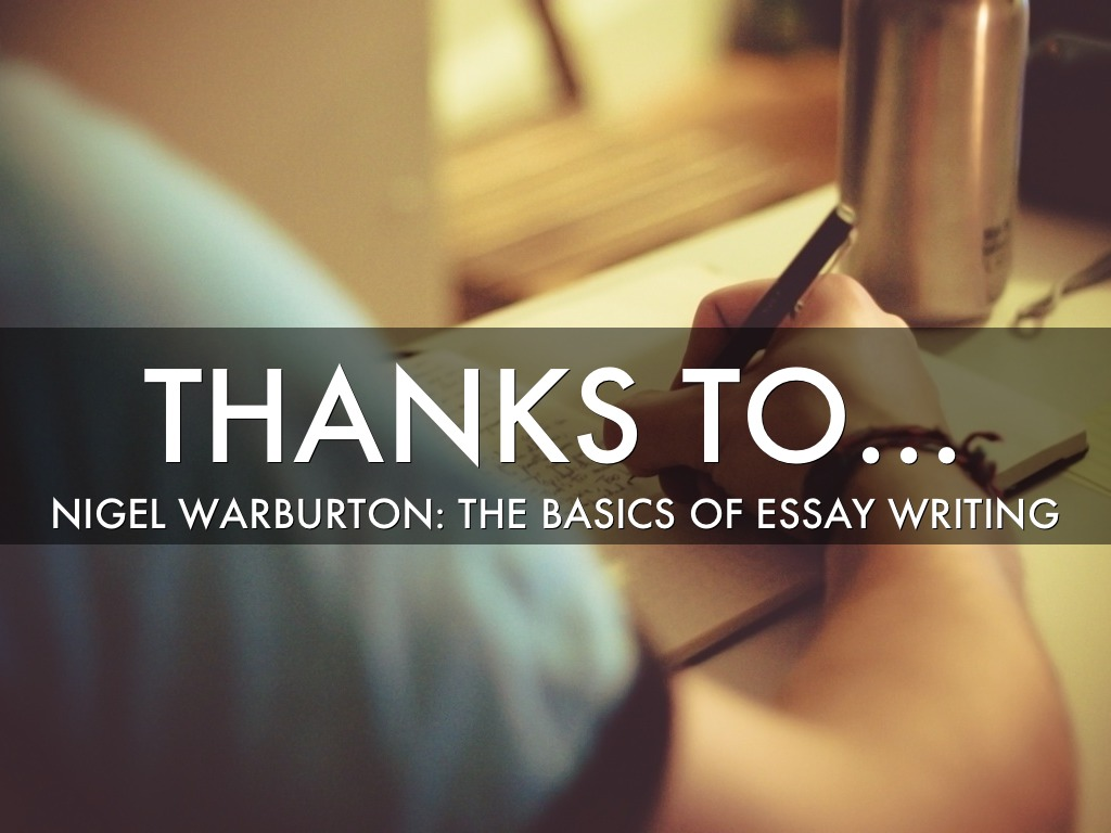 the basics of essay writing warburton
