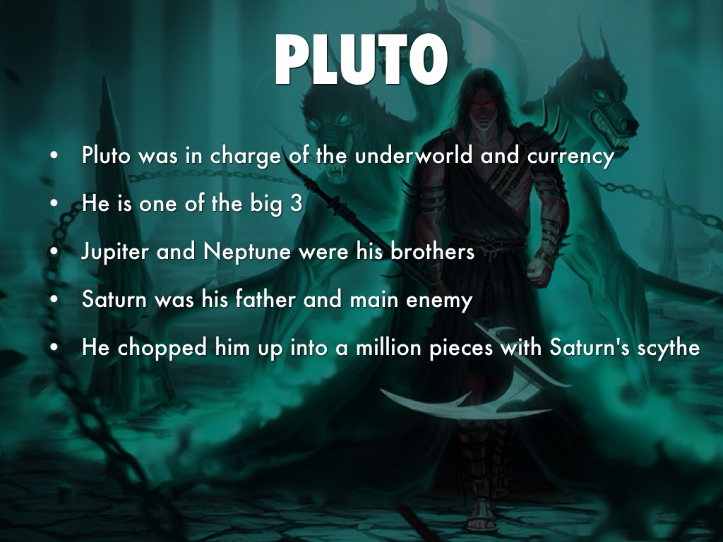 Roman God Pluto By Lucashb21
