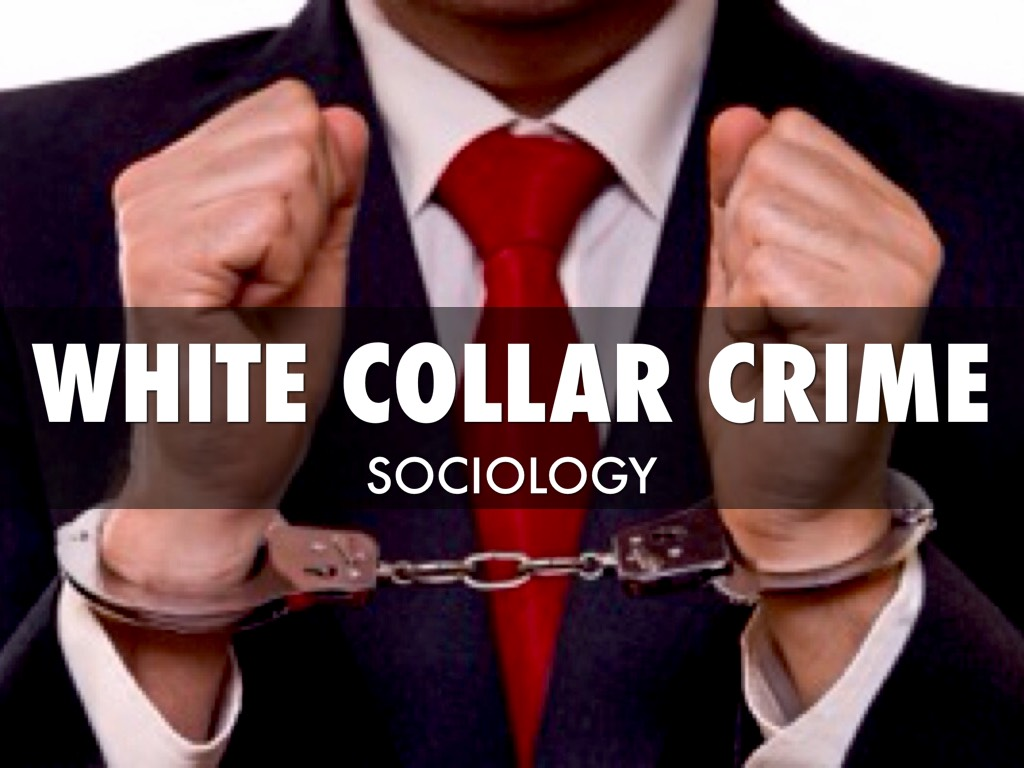 white collar crime outline