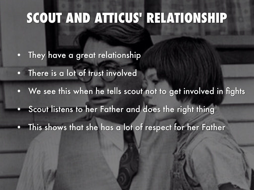 describe calpurnia and scouts relationship with atticus