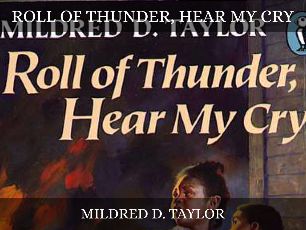 roll of thunder Roll of thunder, hear my cry is a 1976 novel by mildred d taylor, sequel to her 1975 novella song of the trees it is a book about racism in america during the great depression the novel won the 1977 newbery medal it is followed by two more sequels, let the circle be unbroken (1981), the road to memphis (1990),.