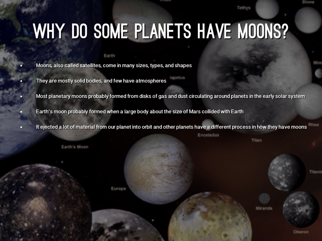 what causes the planets and moons in our solar system to orbit the sun - photo #41