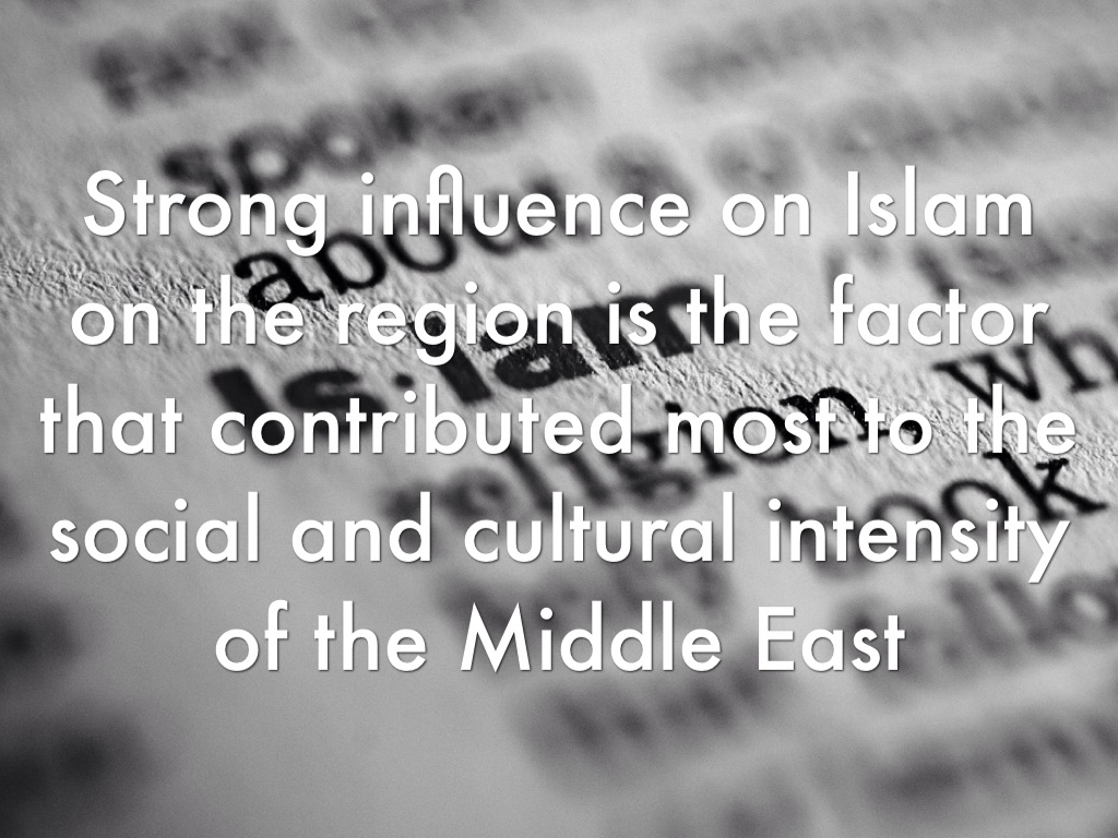 influence of islam on society