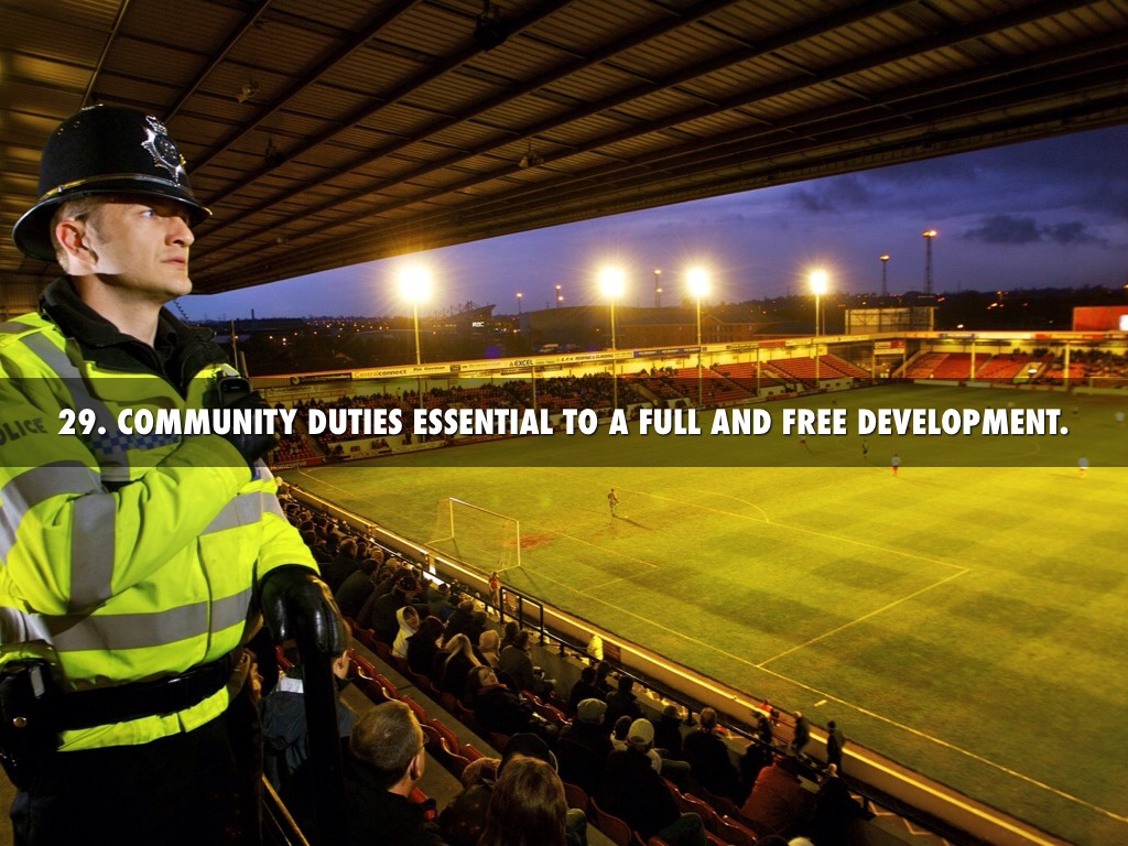 community duties essential to free and full development